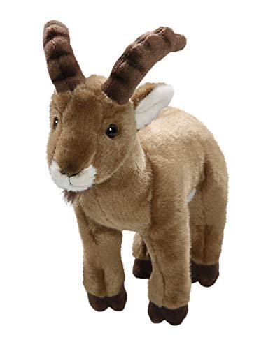Carl Dick Steinbock, Ibex aus Plüsch, ca. 25cm lang und ca. 25cm hoch 3407
