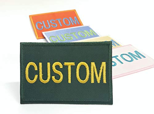 Create Your Own Embroidered Patch with Custom Colors for The Yeti Cooler, Yeti Hopper, Yeti Camino Carryall, Yeti Panga Duffel