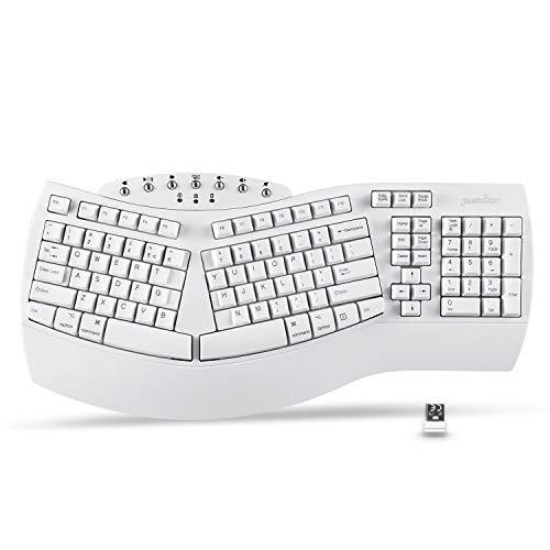 Perixx Periboard-612 Wireless Ergonomic Split Keyboard, US English Layout