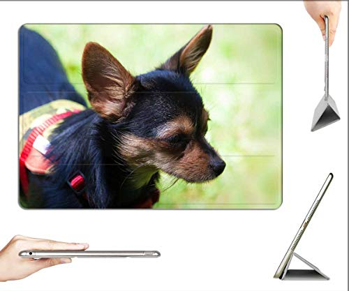 Case for iPad Pro 12.9 inch 2020 & 2018 - Yorkshire Terrier Hybrid Chihuahua Cute Black