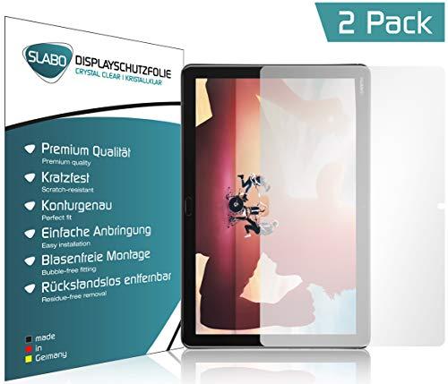 Slabo 2 x Bildschirmschutzfolie für Huawei MediaPad M5 Lite (10.1