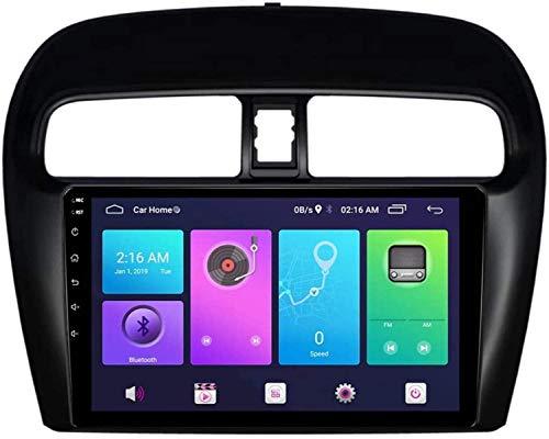 FDGBCF para Mitsubishi Mirage/ATTRAGE 2012-2018 Android Car Stereo Sat Nav Head Unit Sistema de navegación GPS SWC 4G WiFi BT Conexión USB Espejo Integrado carplay