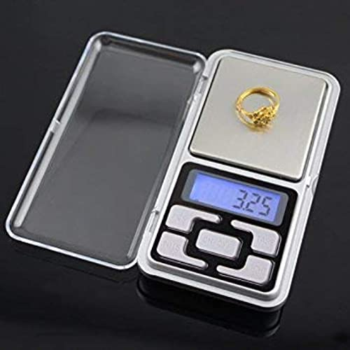 SHEETAL Electronic Scale Multipurpose MH 200 LCD Screen Digital Electronic Portable Mini Pocket Scale Weighing Scale for Measuring Small Items 200g