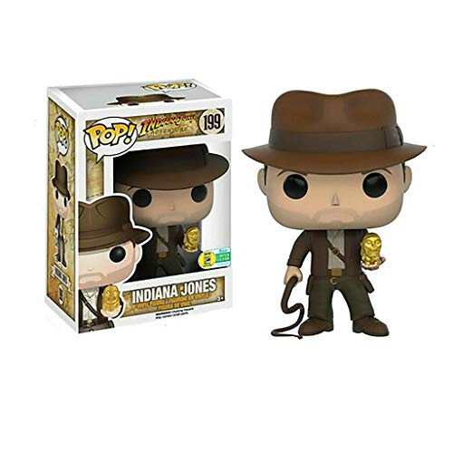 """YYBB Figura Pop!Aventura de Indiana Jones - Indiana Jones 4.8"""" Exclusivo de colección de Vinilo Figura Regalos for niños Juguetes Figurines"""