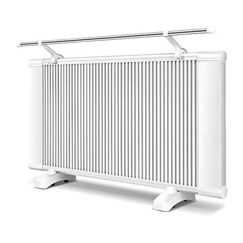 NBVCS Pared de la superficie del stand configuraciones de temperatura 2 calentador con termostato ajustable con la toalla rack Protección del sobrecalentamiento, calentador eléctrico for dormitorio, f