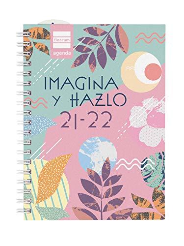 Finocam Agenda 2021 2022 Semana vista apaisada Septiembre 2021, Agosto 2022 12 meses 8º, 120x169 Mini-Institut Hazlo Español