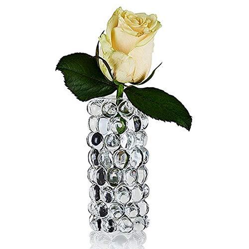 Skogsberg and Smart - Vase, Blumenvase - Farbe: Transparent, Klar - m&geblasen - Boule - Maße (ØxH): 4,5 x 11,5 cm