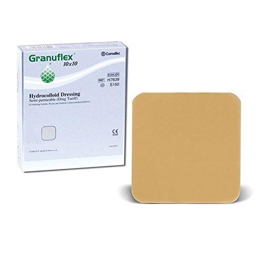 Granuflex Hydrocolloid - Vendaje semi permeable, tratamiento para heridas y quemaduras