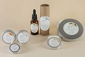 RUTINA COMPLETA DE CUIDADO CORPORAL - Crema corporal, aceite botánico, crema de manos, desodorante, multibálsamo,...