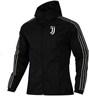 Juventus Adult Football Match Training Team wear Running Clothes Jersey Suit Autumn Winter boy Student Zipper Sweatshirt top Size S-XXL