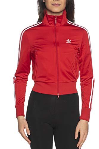 adidas Firebird TT PB Sport Jacket, Rosso, 38 para Mujer