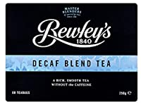 Bewley's Irish Decaf Blend Tea - 80 Bags (8.8 ounce) by Bewley's
