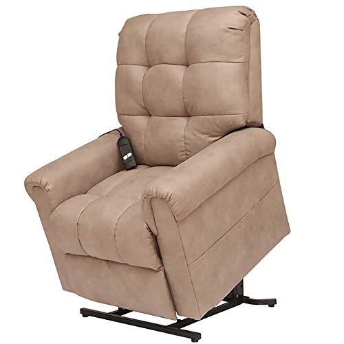 ZZYYZZ Elektrischer Massagestuhl Power Lift Stuhl für ältere Menschen Liegestuhl Sofa Elektrische Liegestühle mit Fernbedienung Soft, PU