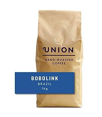 Union Hand Roasted Coffee | Arabica Coffee Beans | Light Roast | Single Origin Bobolink Espresso Coffee Beans 1kg
