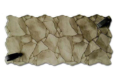 Polyurethane Mat Stamp STONES | Texturing Skin Slate Pattern Stone Decorative Concrete Cement Imprint Polyurethane Texture Stamp Mat Polyurethane Stamping
