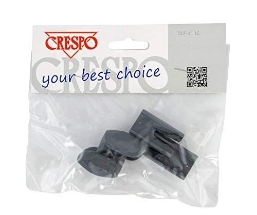 Crespo for headrest Clip para reposacabezas Compacto, Gris, Talla única