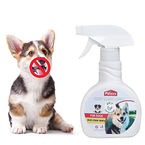 Dog No Chew Spray - Anti Chew Spray Deterrent for Dogs, Pet Corrector Bitter Spray for Dogs to Stop Chewing|Non-Toxic - 8.45oz