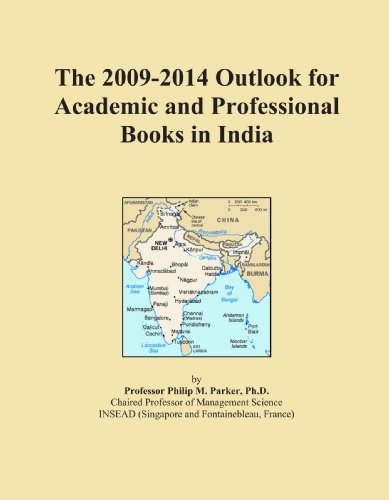 The 2009-2014 Outlook for Academic and Professional Books in India