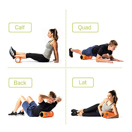 Trigger Point Ball Foamroller Grid, Orange, TF00226 - 5