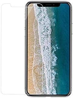 واقي شاشة من الزجاج المقوى لهاتف IPhone XS Max 6.5، سهل التركيب، مقاوم للخدش لمدة 9 ساعات