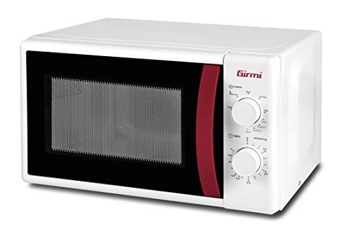 Girmi FM02 Forno microonde Combinato, 1050 W, 20 Litri, Acciaio, Bianco