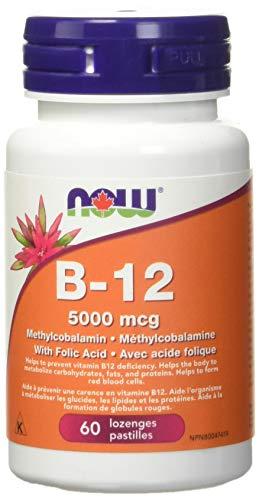 NOW B-12 Methyl form 5000mcg 60Loz