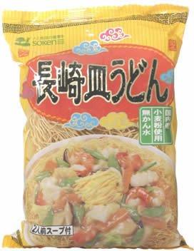 創健社 国内産小麦使用 無かん水 長崎皿うどん 2食入り