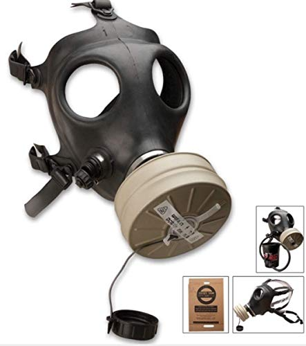 Israeli Rubber Respirator Mask NBC Protection For Industrial Use, Chemical Handling, Painting,...