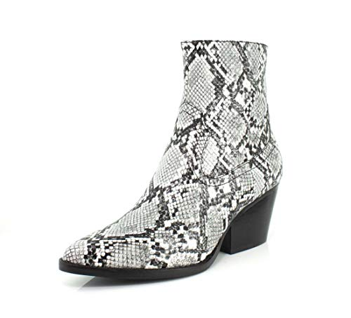 Jeffrey Campbell Womens Kelam-2 Grey Snake Boot - 8