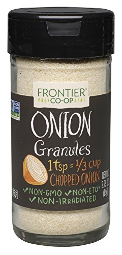 Frontier Natural Products Onion, White Granules, 2.29 Ounce