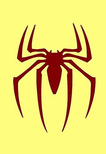 A3Große Schablone Spiderman Symbol * NEW dicker 190mikron wiederverwendbar Mylar *