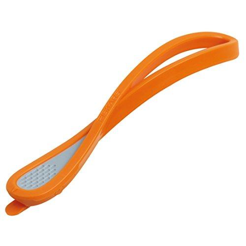Fiskars Papier-Schneidemesser/Cutter, Gesamtlänge: 16,6 cm, Qualitätsstahl/Kunststoff, Orange/Grau, 1004713
