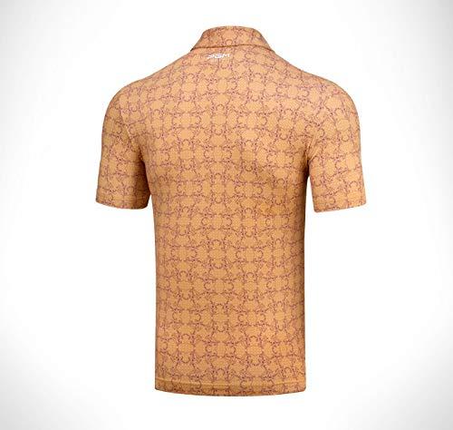Heren Golf shirts (team maatwerk), Prachtige monteur steken, Melk zijde stoffen, Hoge elasticiteit, Geen vouwen, Snelle uitlaat, Deodorant, Geschikt voor de zomer golf shows Polo shirts