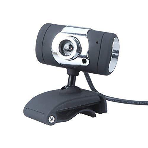 GYC Tragbare einstellbare Office USB 2.0 50.0M HD Webcam Kamera Web Cam mit Miniphone MIC für Computer PC Laptop Schwarz
