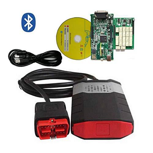 hanyaqi Tool Zur Diagnose Von Fahrzeugfehlern, Kostenloses Bluetooth Für Das Automatische Dialogdiagnosetool Delphi Obd2, Zweischichtiges Motherboard DS150E CDP PRO + 2016R0 / 2015 R3