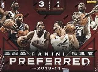 2013/14 Panini Preferred Basketball box (4 cards)