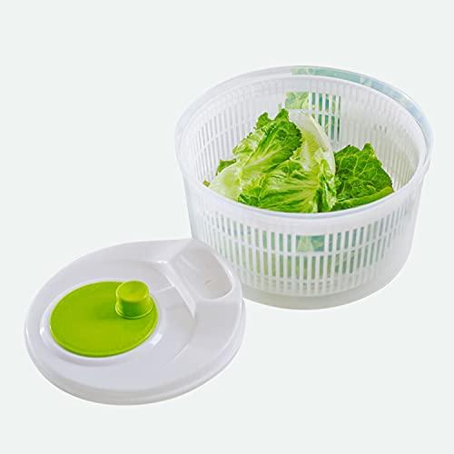 BAIYAN サラダスピナー 野菜 水切り 器 野菜の脱水器 家庭用 キッチン用 高温に堪える耐える