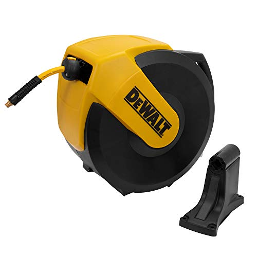 DeWalt DXCM024-0345 Hose Reel Automatic Retraction Enclosed Air Hose Reel