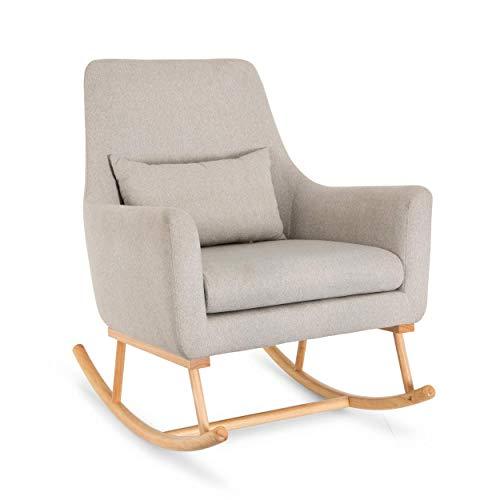 Oscar Rocking Chair - Tutti Bambini - Nursing Breastfeeding Rocker Chair in Natural Stone