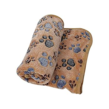 Couverture en polaire douce et chaude pour animal domestique, coussin d'hiver pour chat, chiot, chaton, accessoire d'intérieur ou d'extérieur