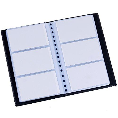 Zacro Visitenkartenmappe für 240 Karten...