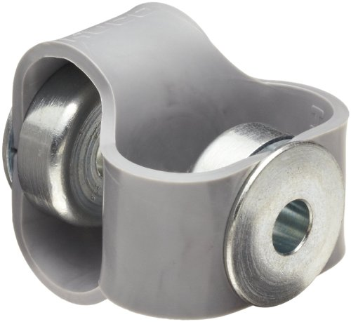 Huco 047.10.2424.Z Size 10 Flex-P Double Loop Elastomer Coupling, Hytrel with Steel Hubs, Inch, 0.25