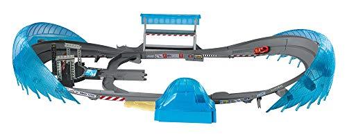 Mattel FCW02 - Disney Cars 3 Ultimate Florida Speedway Rennbahn für Spielzeugautos, Kinder Spielzeug ab 4 Jahren