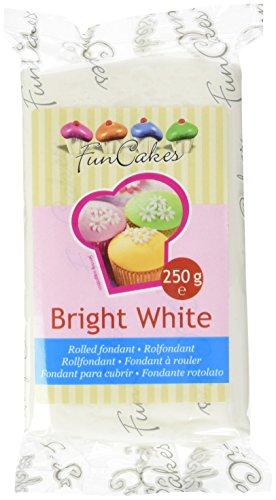 Funcakes Pte À Sucre Blanc Brillant 250 G