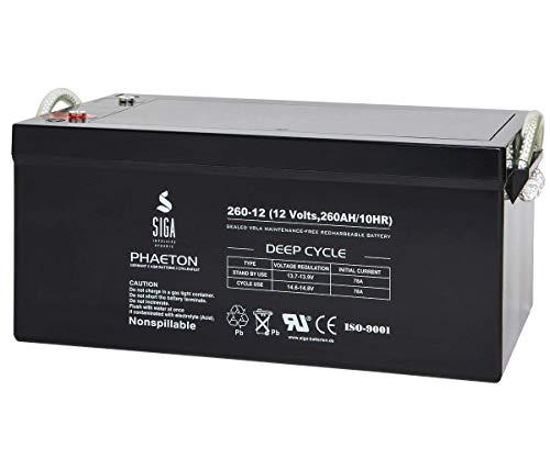Blei Akku 260Ah 280Ah 12V AGM GEL Solarbatterie Versorgungsbatterie Wohnmobil Batterie