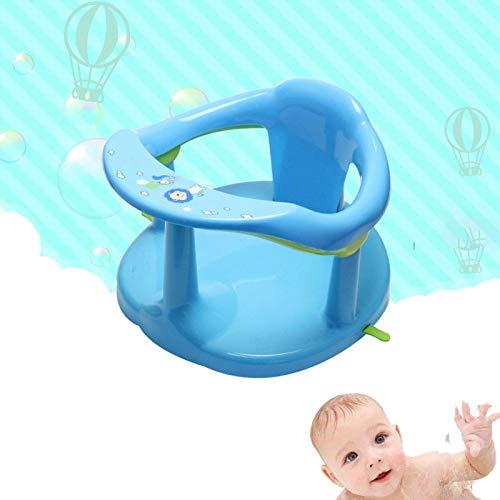 ZHURGN Asiento de bañera de bebé, Asiento para bebés Infantiles, para bañarse Abdominales, Brinda Soporte de Respaldo y ventosas para Estabilidad, Asientos de baño Envolvente para bebé 6-22 Meses
