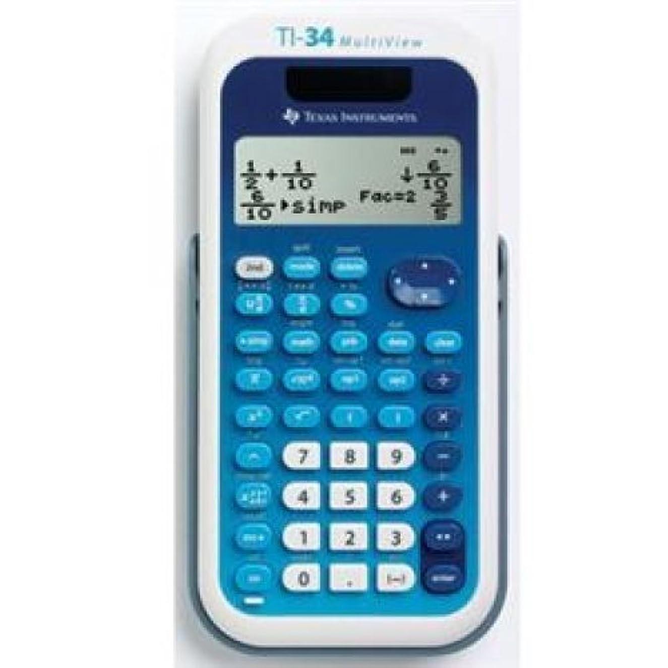 Texas Instruments ti-34マルチ表示電卓/ 34?MV/TBL / 1l1?/ A/by TEXAS INSTRUMENTS