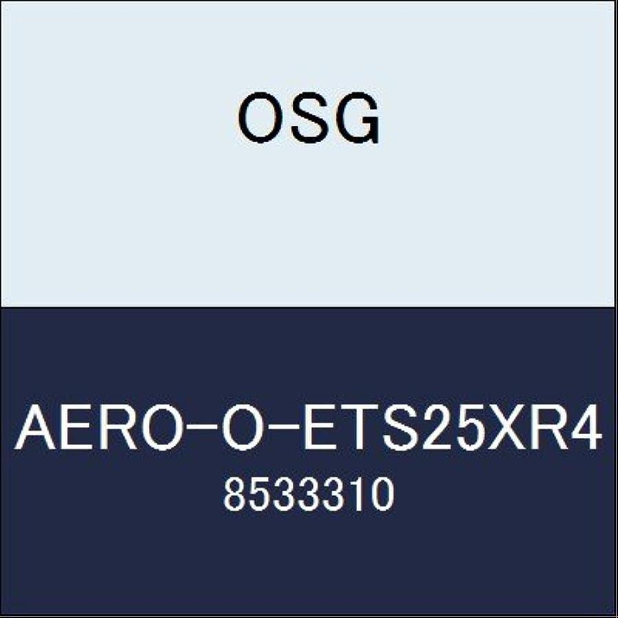 使役誇大妄想篭OSG エンドミル AERO-O-ETS25XR4 商品番号 8533310