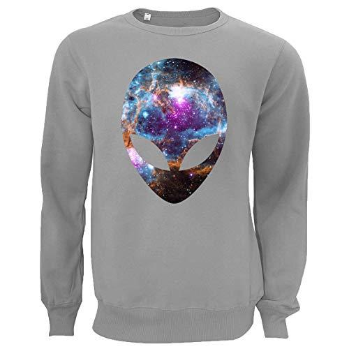 Cosmic Alien Head Nebula Space NASA Unisex trui