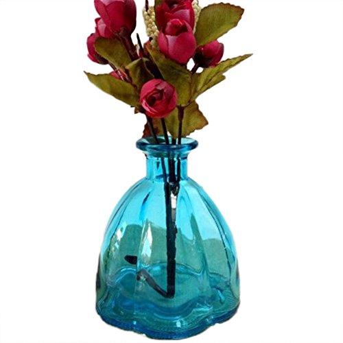 Laat Retro calabaza botellas cristal jarrón decoración